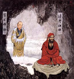 Shenguang & Bodhidharma