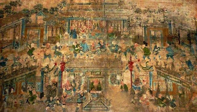 Shaolin Temple Mural 1