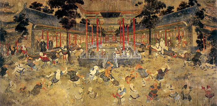Shaolin Temple Mural #2