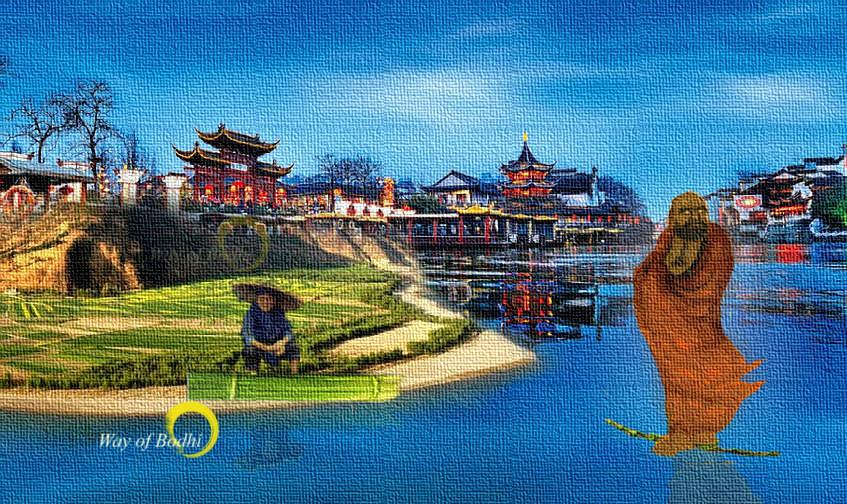 Bodhidharma on the Yangtze
