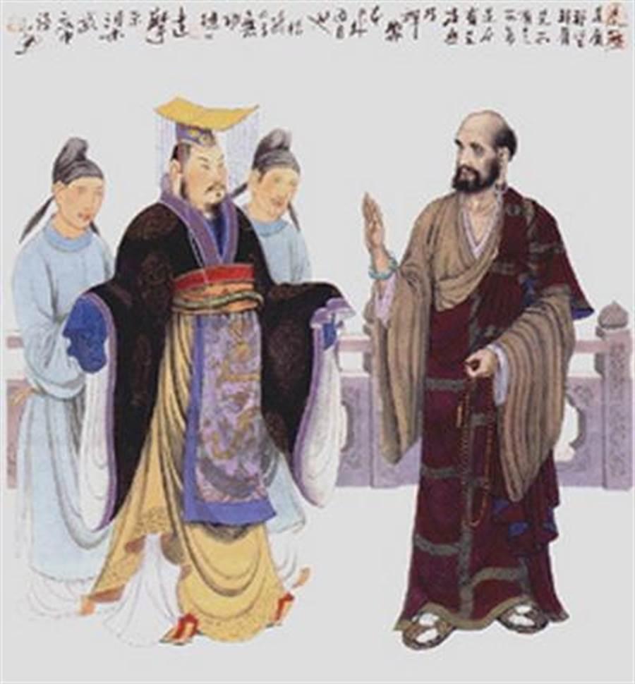 Bodhidharma & Emperor Wu