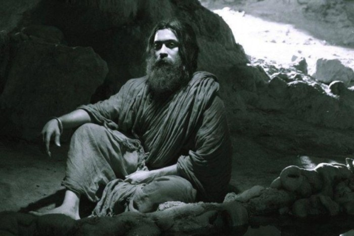 Bodhidharma in a Cave